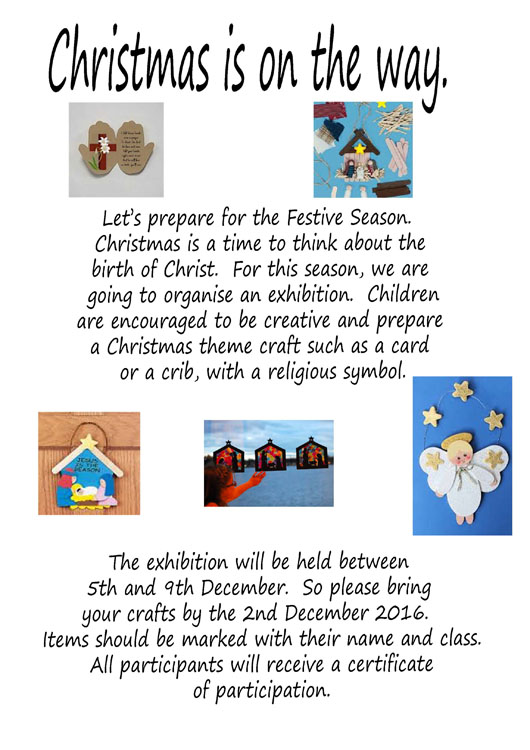 Christmas Exhibition Theresa Nuzzo School